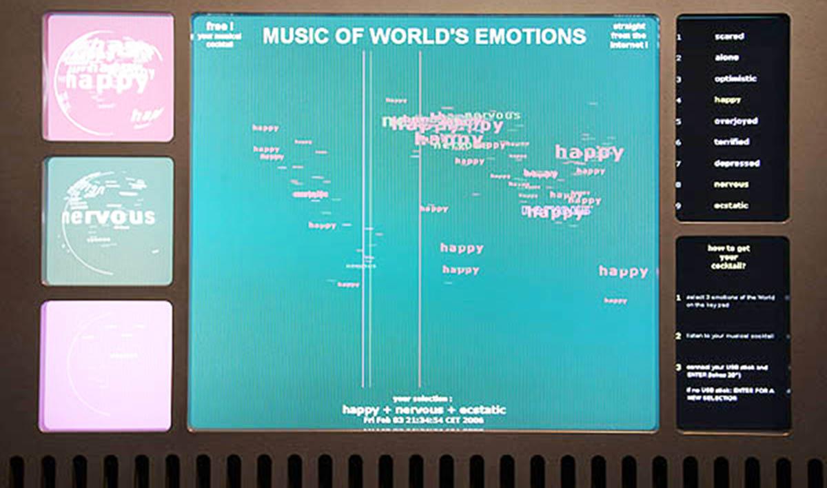 Maurice Benayoun Interactive Art Audio Visual Ringtone Circuit Schematic Diagram 06 Oct Emotion Ringtones