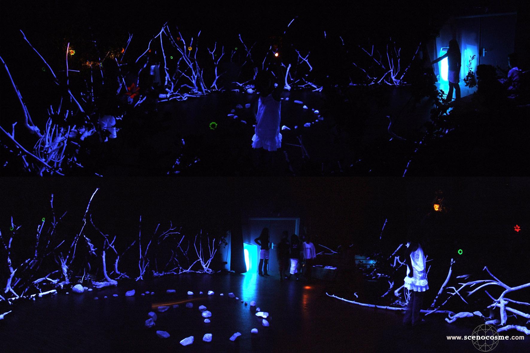 « Alsos »  par Scenocosme : la lumière source de création sonore
