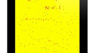 «Composition n°1″ : roman combinatoire sur Ipad