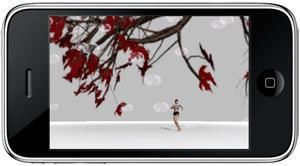 soi moi: une oeuvre chorégraphique interactive pour iPhone