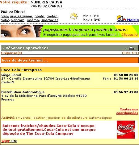 Numeris Cola