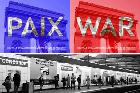 War Paix Concorde